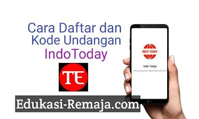 Program referensi atau referral IndoToday akan memberikan pengguna mereka 50,000 poin ketika menggunakan kode undangan IndoToday,