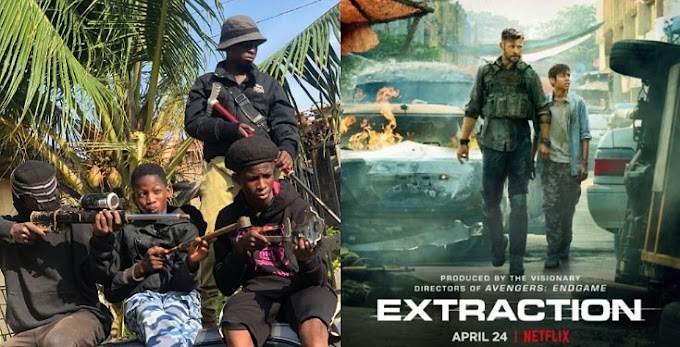 "Makers Of American Film ""Extraction"" Invite Ikorodu Bois To Their 2nd Premier For Remaking The Movie"