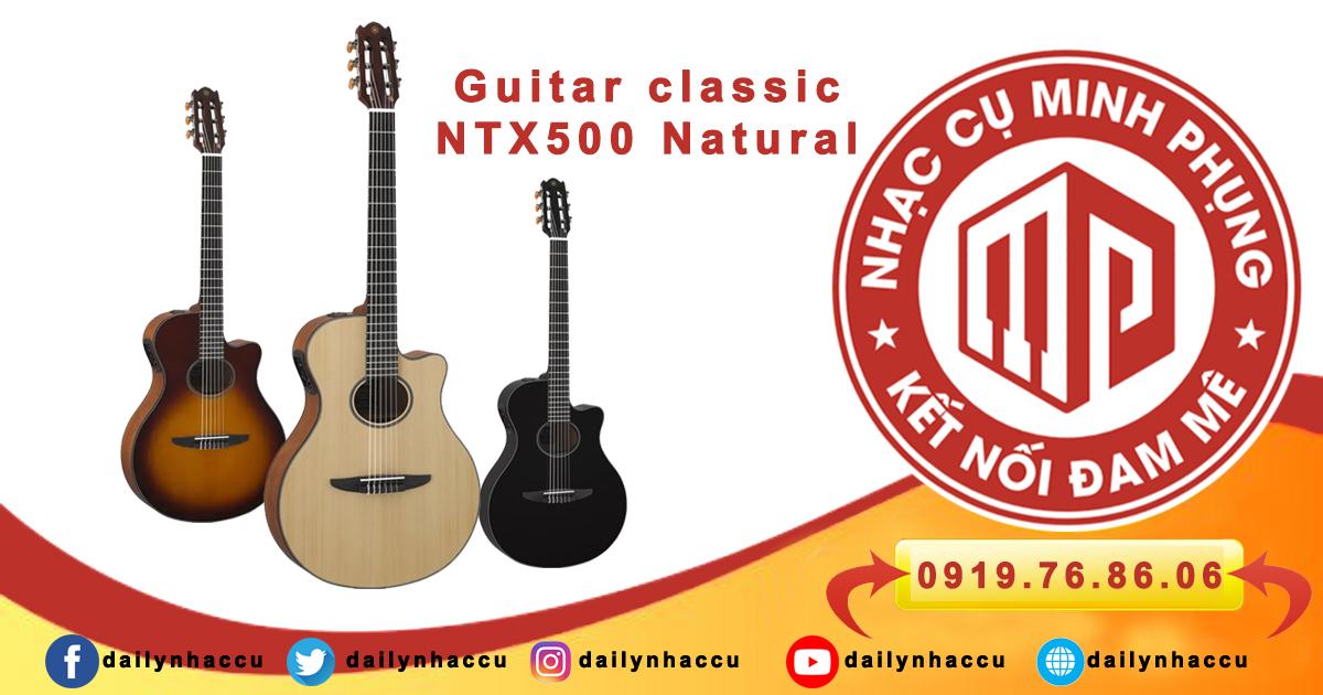 Đàn guitar yamaha ntx 500