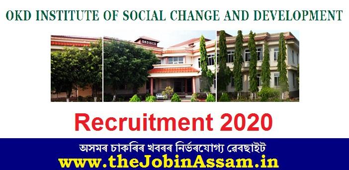 OKDISCD Recruitment 2020