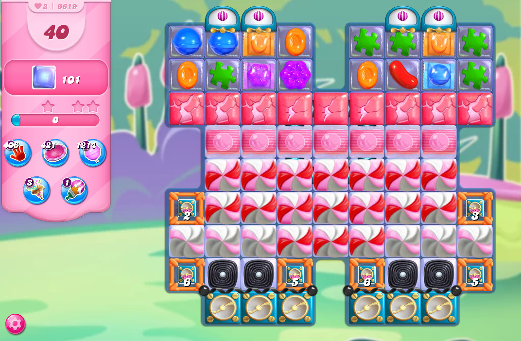 Candy Crush Saga level 9619