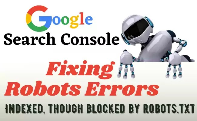 Google Search Console Robots Errors Fixing