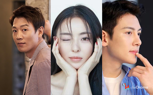 Kim Rae Won, Lee Da Hee dan Ji Chang Wook serial Drama Luca