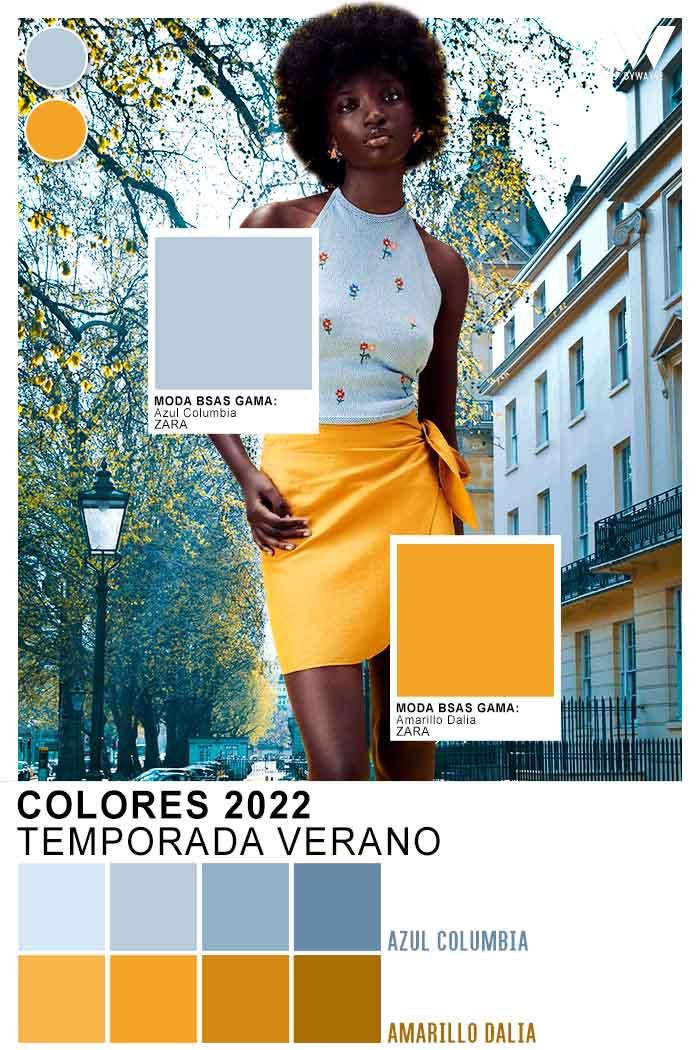 que colores se usan este verano 2022