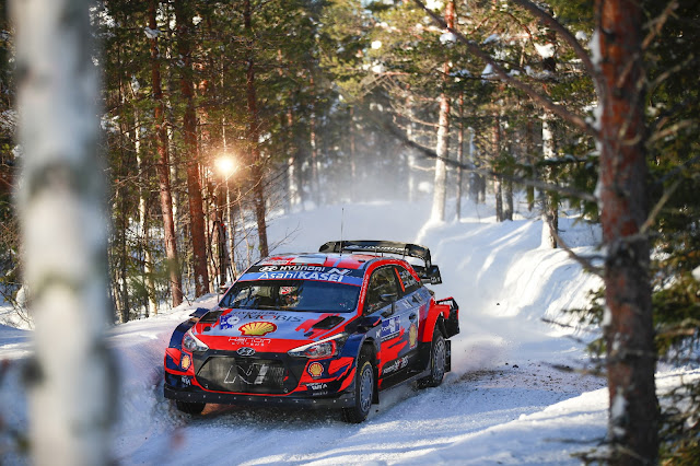 Ott Tanak Arctic Rally Finland 2021
