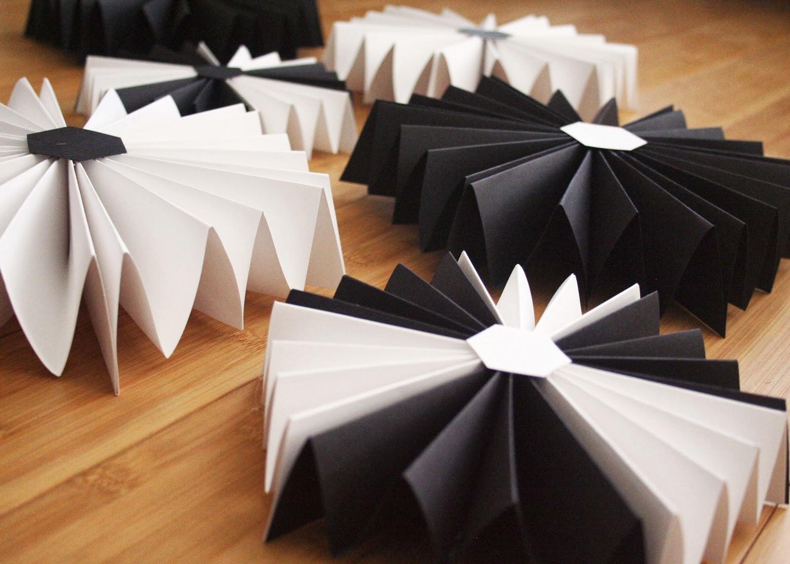 Party // Hexagon Paper Fans