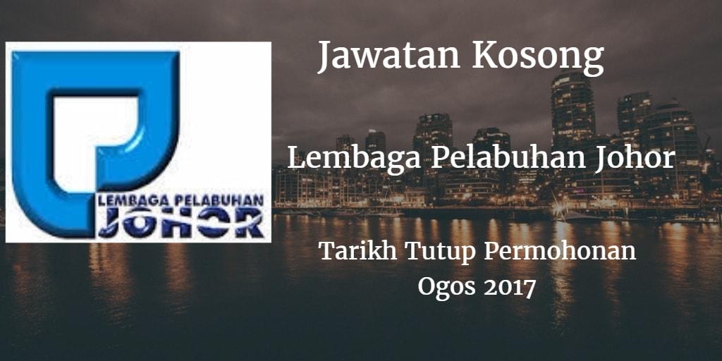 Jawatan Kosong LPJ Ogos 2017