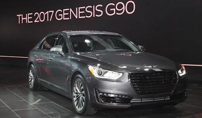 New 2017 Genesis G90 side image look
