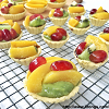 Matcha Fruit Tarts