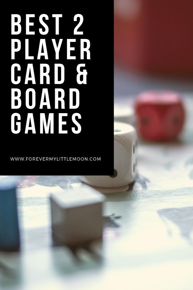 The Best Two Player Card & Board Games