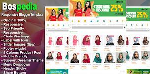 Bospedia Shop Responsive Blogger Template