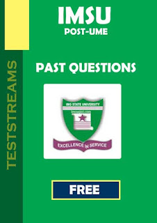IMSU Post UTME Past Questions - Free Download