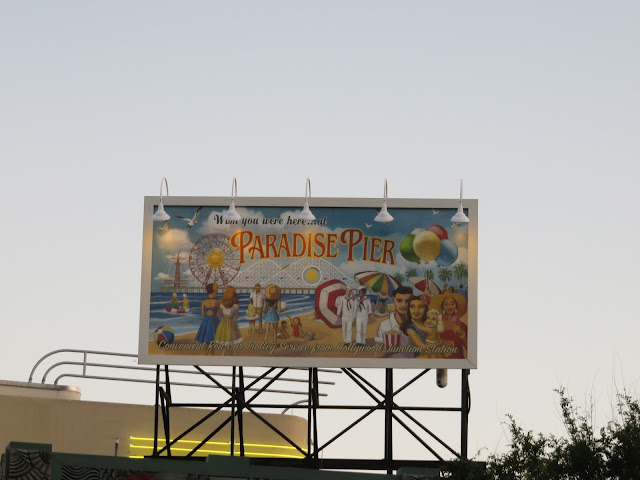 Paradise Pier Sunset Boulevard Disney's Hollywood Studios