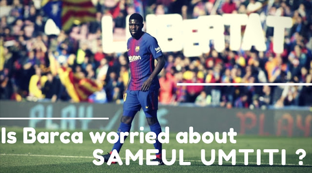 Samuel Umtiti has been linked with a host of European Clubs this Winter Transfer window. Barca seems to be preparing a new deal to tie down the Frenchman at Camp Nou