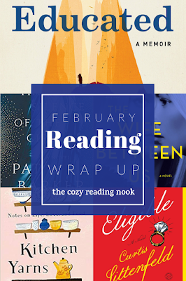 Five books I read February 2019 The Cozy Reading Nook
