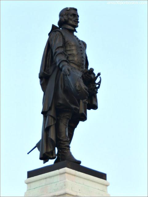 Monumento a Samuel de Champlain en Quebec