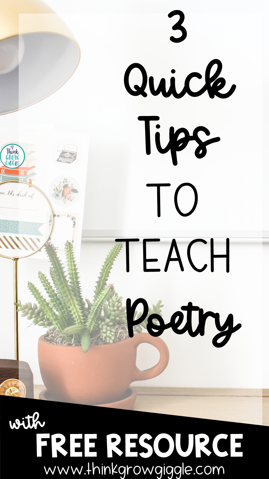 poetry lesson ideas for upper elementary