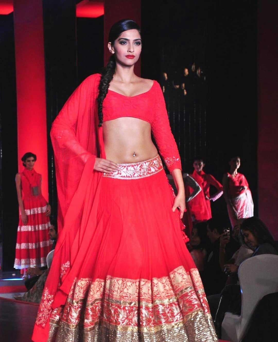 Sonam Kapoor Pierced Navel
