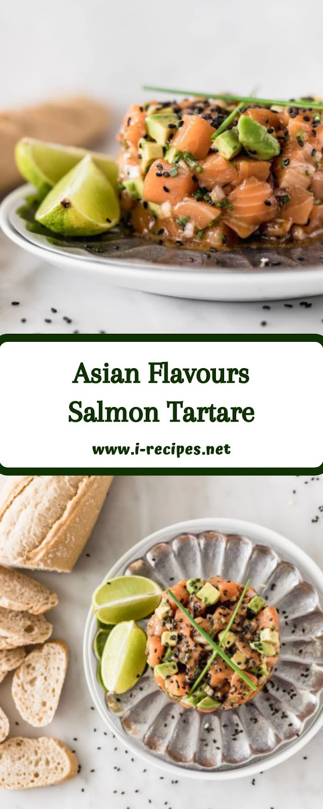 Asian Flavours Salmon Tartare