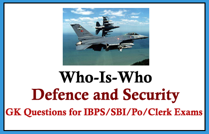 Who is Who - Defense and Security