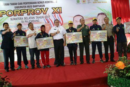 Muba Akan Targetkan Juara Umum Porprov Sumsel XII 2019