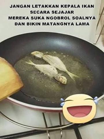 tips cara menggoreng ikan yang benar