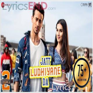Jatt Ludhiyane Da Lyrics Student of the Year 2 [2019]