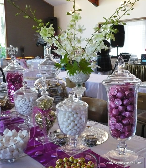 Candy Bar For Wedding Ideas