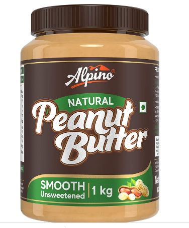 Alpino Natural Peanut Butter Smooth 1 KG