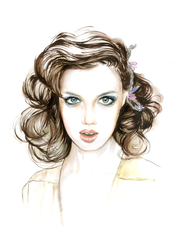 18-Caroline-Andrieu-Fashion-Shows-Distilled-into-Drawing-Portraits-www-designstack-co