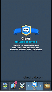 Fitur Clan Clash Royale Android