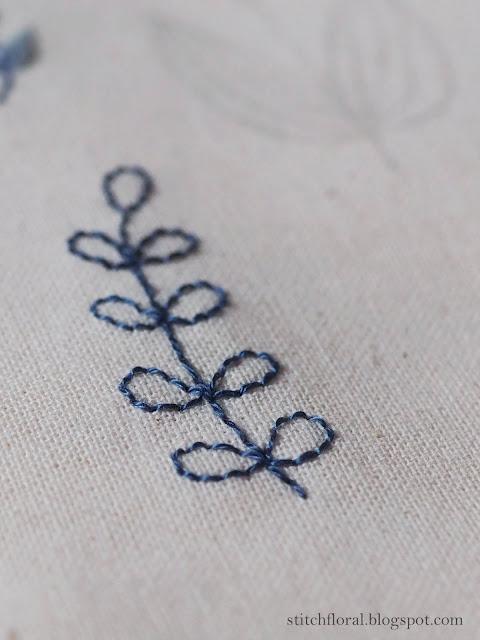 back stitch embroidery