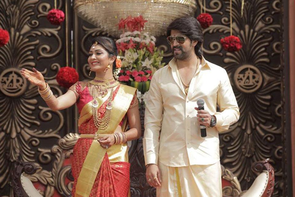 kannada actor couple yash and radhika pandit wedding