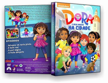 DORA E SEUS AMIGOS (2016) DUAL AUDIO DVD-R OFICIAL