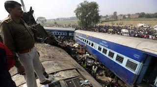 اندور پٹنہ ایکسپریس حادثہ: ہلاکتوں کی تعدادایک سو چالیس تک پہونچ گئی