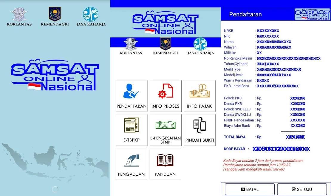 Cara Bayar Pajak Kendaraan Bermotor Lewat Aplikasi Samsat Online Nasional (play.google.com)