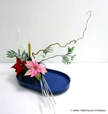 Ikebana-Jiyuka-freestyle-nadal-christmas-wabisabi-escoladikebana
