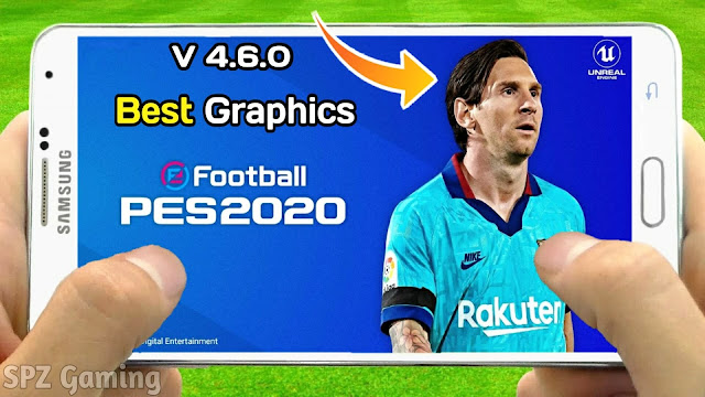eFootball PES 2020 Mobile New Update 4.6.0 Original Logos,Kits Patch Android Best Graphics