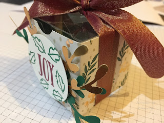 Christmas Table Favours Inspire Create Stamping Challenge #31