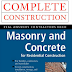 Book on Masonry and Concrete for Residential Construction PDF