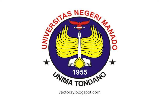Logo Universitas Negeri Manado - UNIMA Tondano Vektor