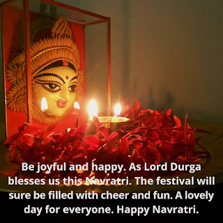 Happy Navratri Quotes In Hindi