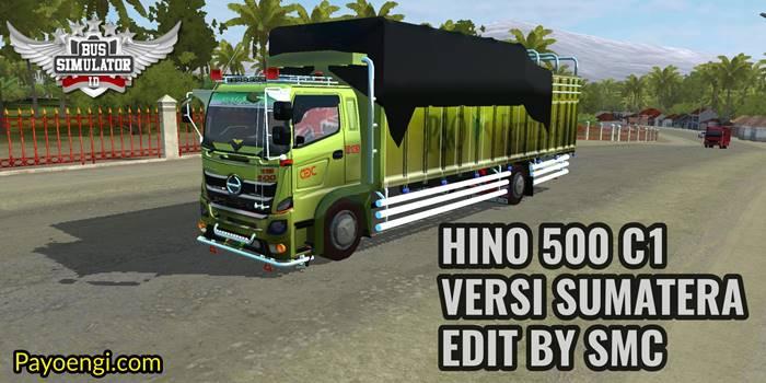 download mod hino 500 c1 sumatera