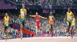 100 metre erkek koşucular, atletizm, usain bolt, tyson gay, yohan blake, asafa powell, nesta carter, maurice gereen, justin gatlin, steve mullings,donovan bailey, buruny surin,