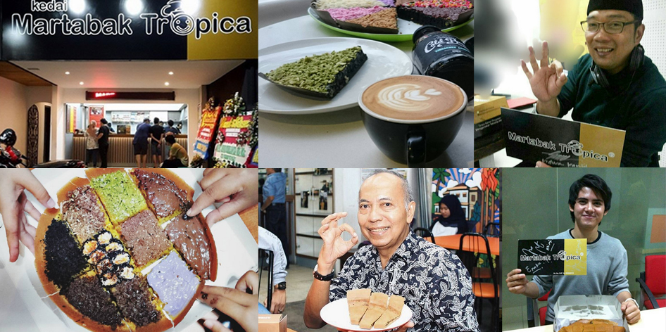 Kedai Martabak Tropica Jalan Burangrang Bandung