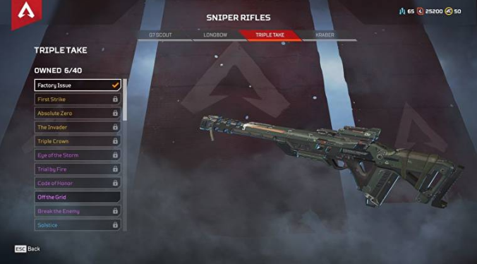 5 Senjata Non-Legendaris Terbaik Di Game Apex Legends