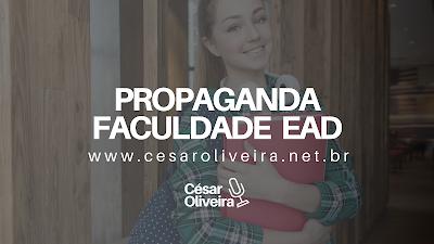 Gravação de propaganda (vinheta) Faculdade EAD | Educação a Distância [ÁUDIO]