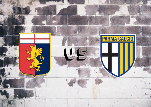 Genoa vs Parma  Resumen