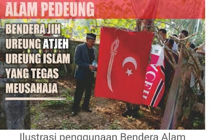 MPU Bireuen: Bendera Alam Peudeung Ka Pah Keu Simbol Bendera Aceh