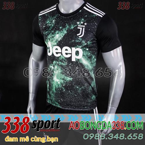 Áo Juventus Đen  2019 Training 17